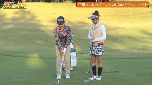[TV-Variety] 191215 石田純一のサンデーゴルフ (SKE48 山內鈴蘭)