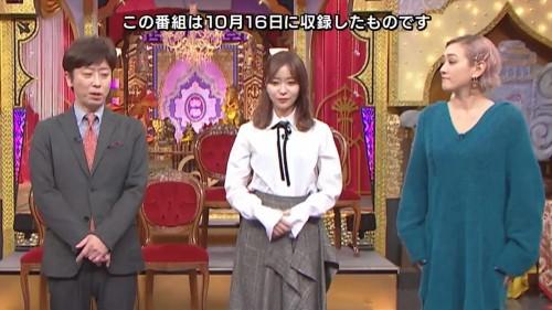 [TV-Variety] 191113 今夜くらべてみました (元HKT48 指原莉乃)