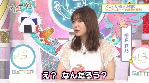 [TV-Variety] 191113 ガッテン! (元HKT48 指原莉乃)
